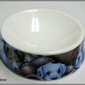 Howie's Hearts Stoneware Bowls - Dog not I…